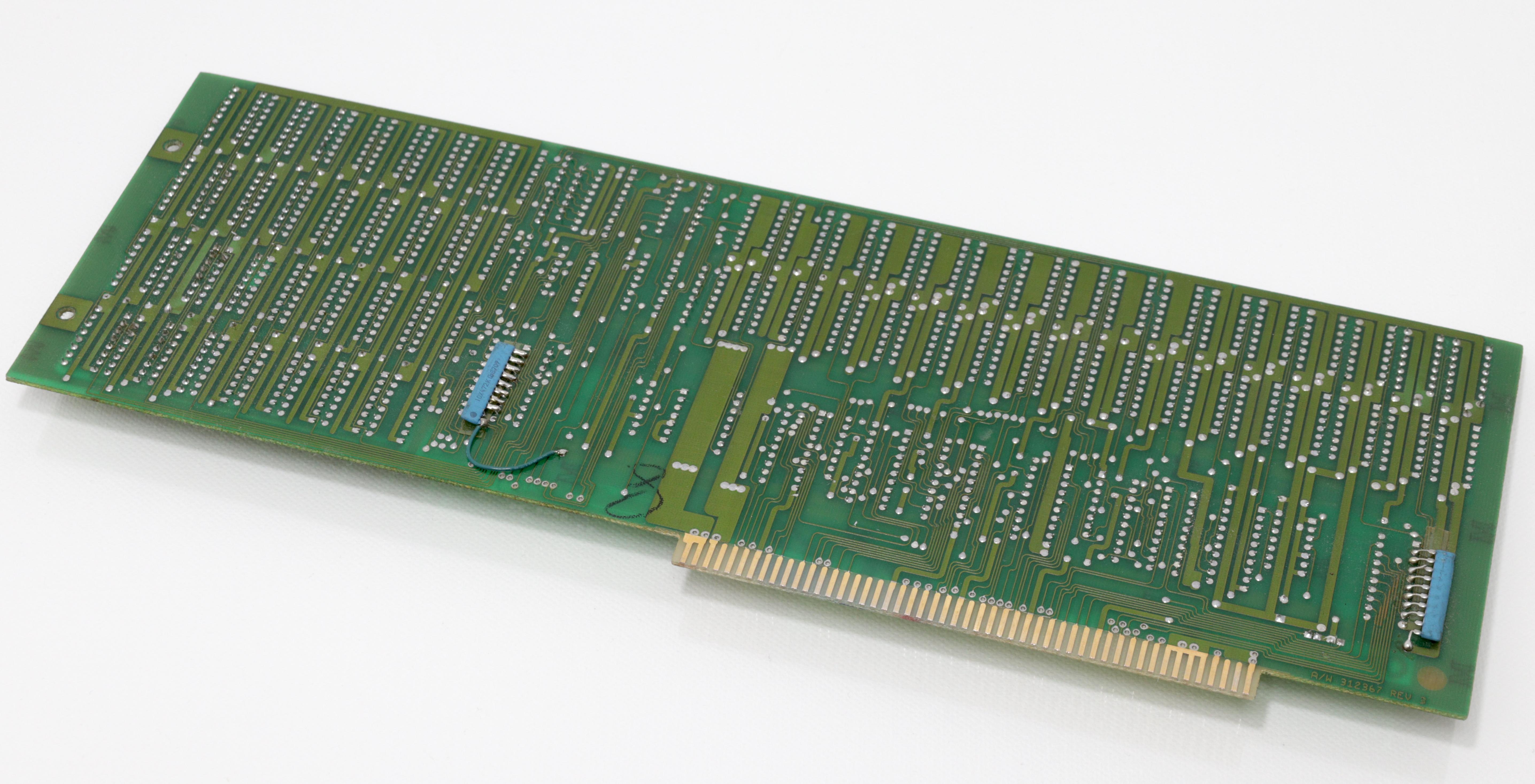 Commodore A25000 - 2MB Fast RAM bővítő hátoldal