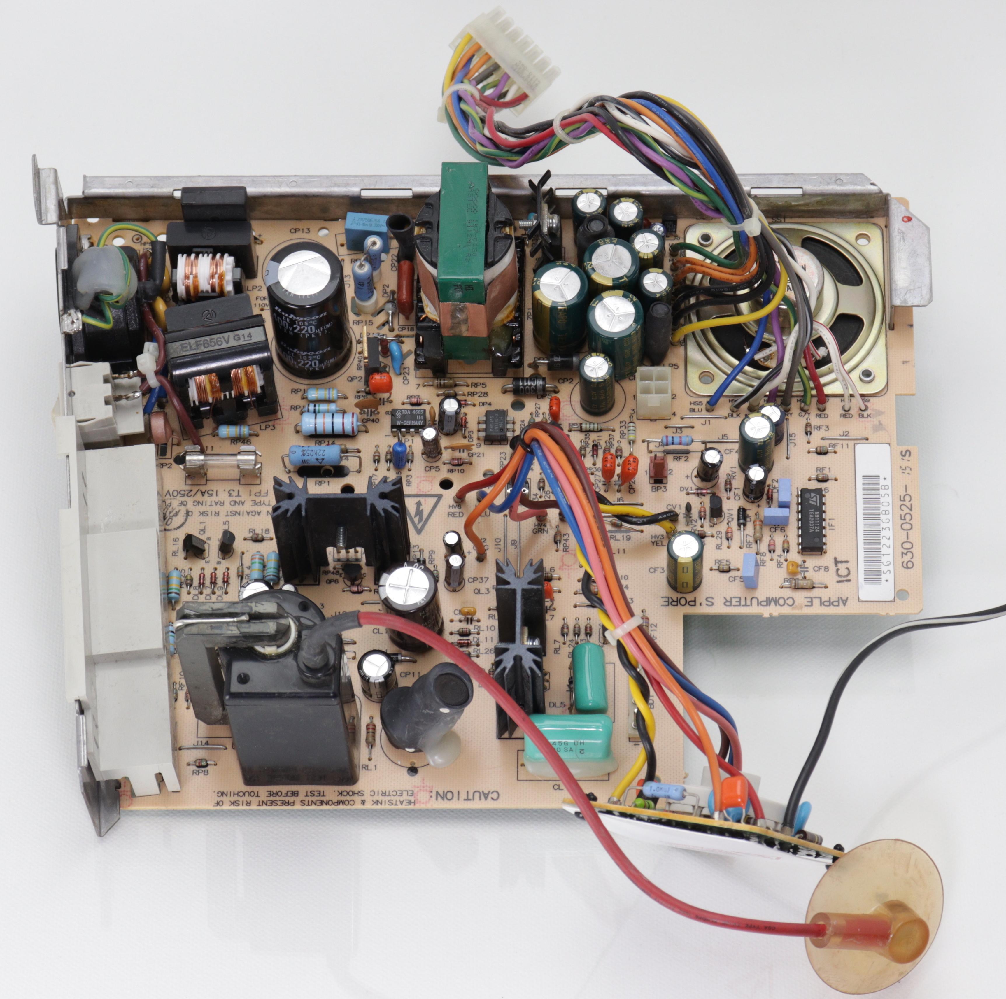 Analog board átalakítva