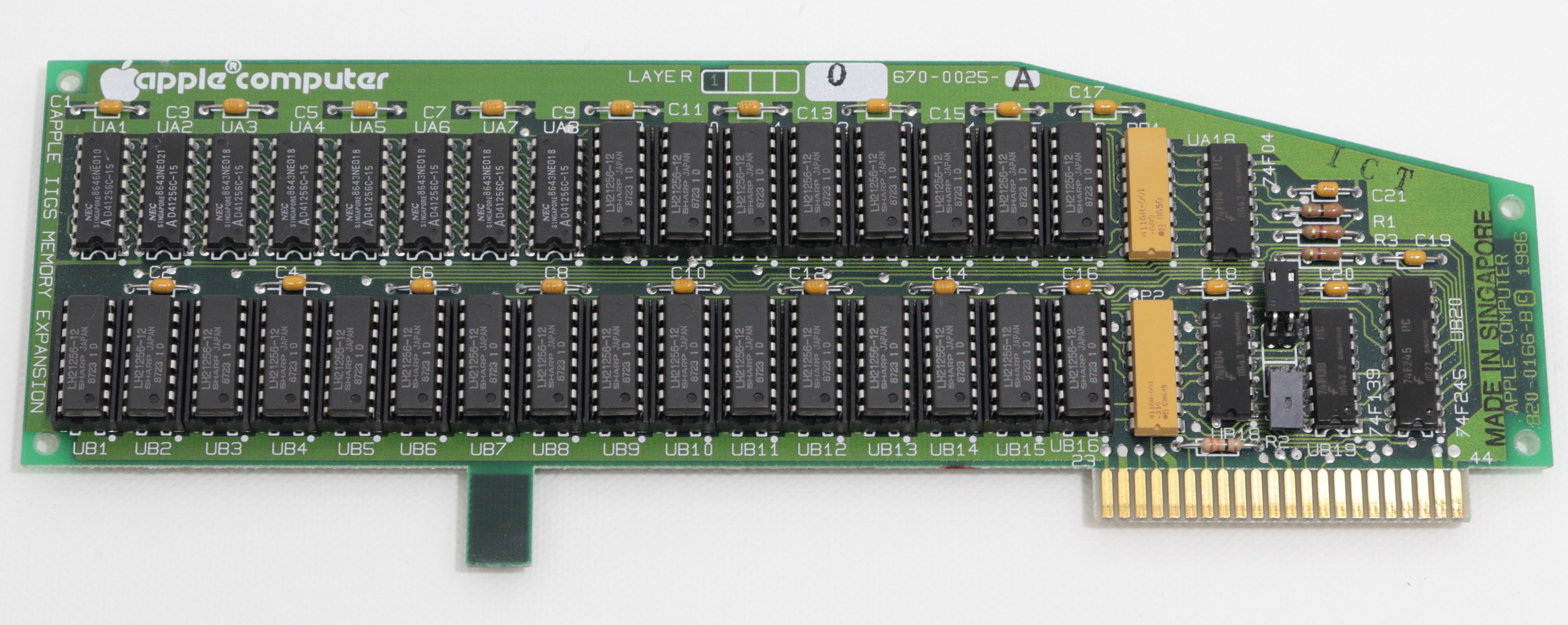 Apple IIGS RAM bővítő