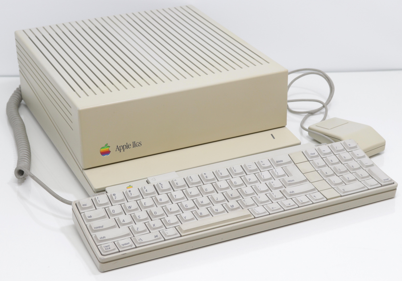 Apple IIGS billentyűzettel