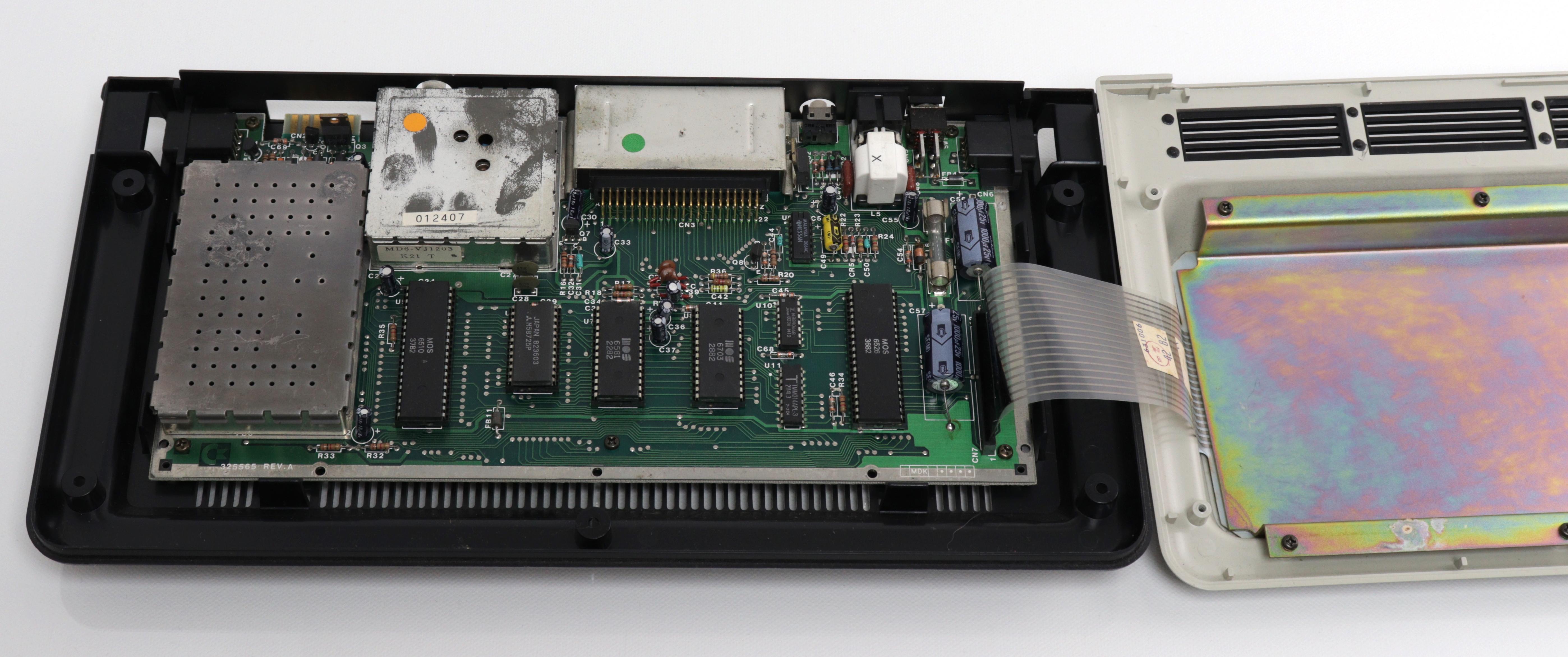 Commodore MAX - PCB és billentyűzet