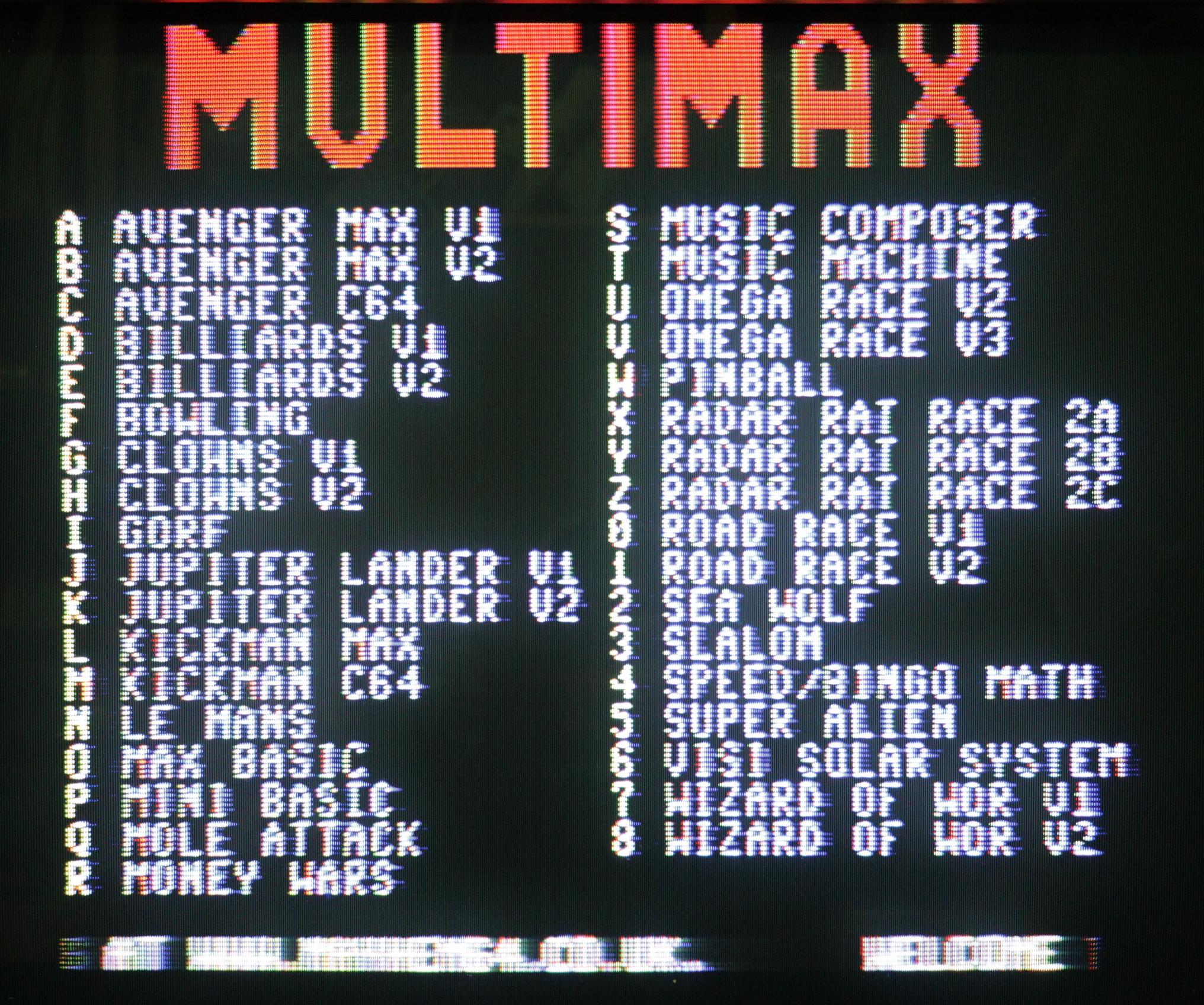 Commodore MAX - kompozit kiment képe