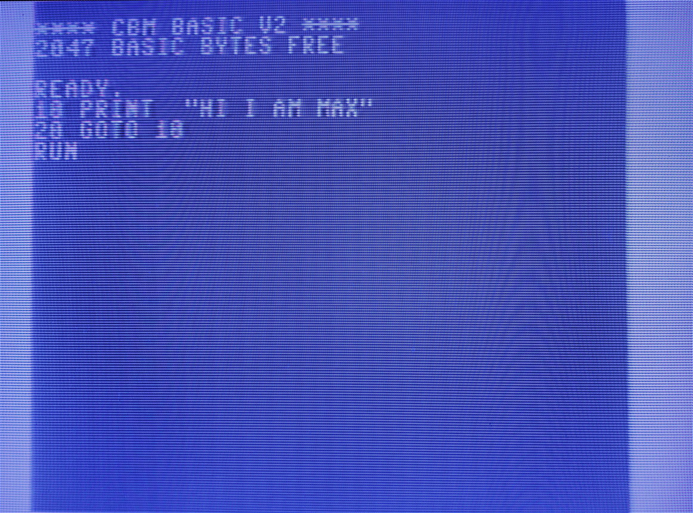 Commodore MAX - MAX basic