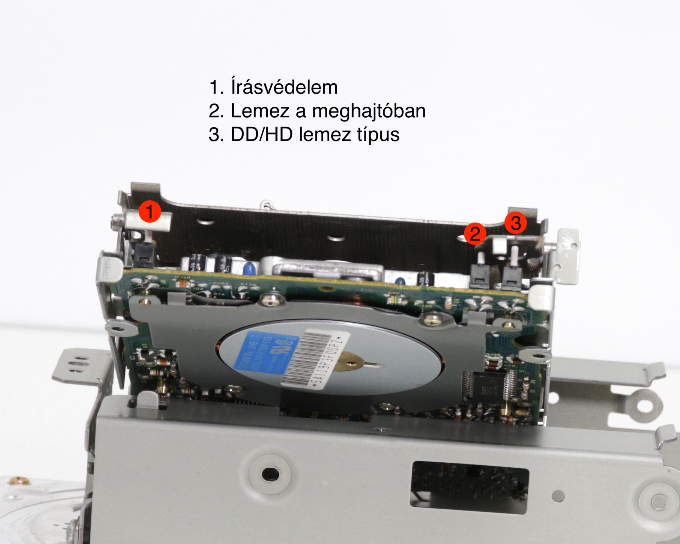 Floppy mikrokapcsolók