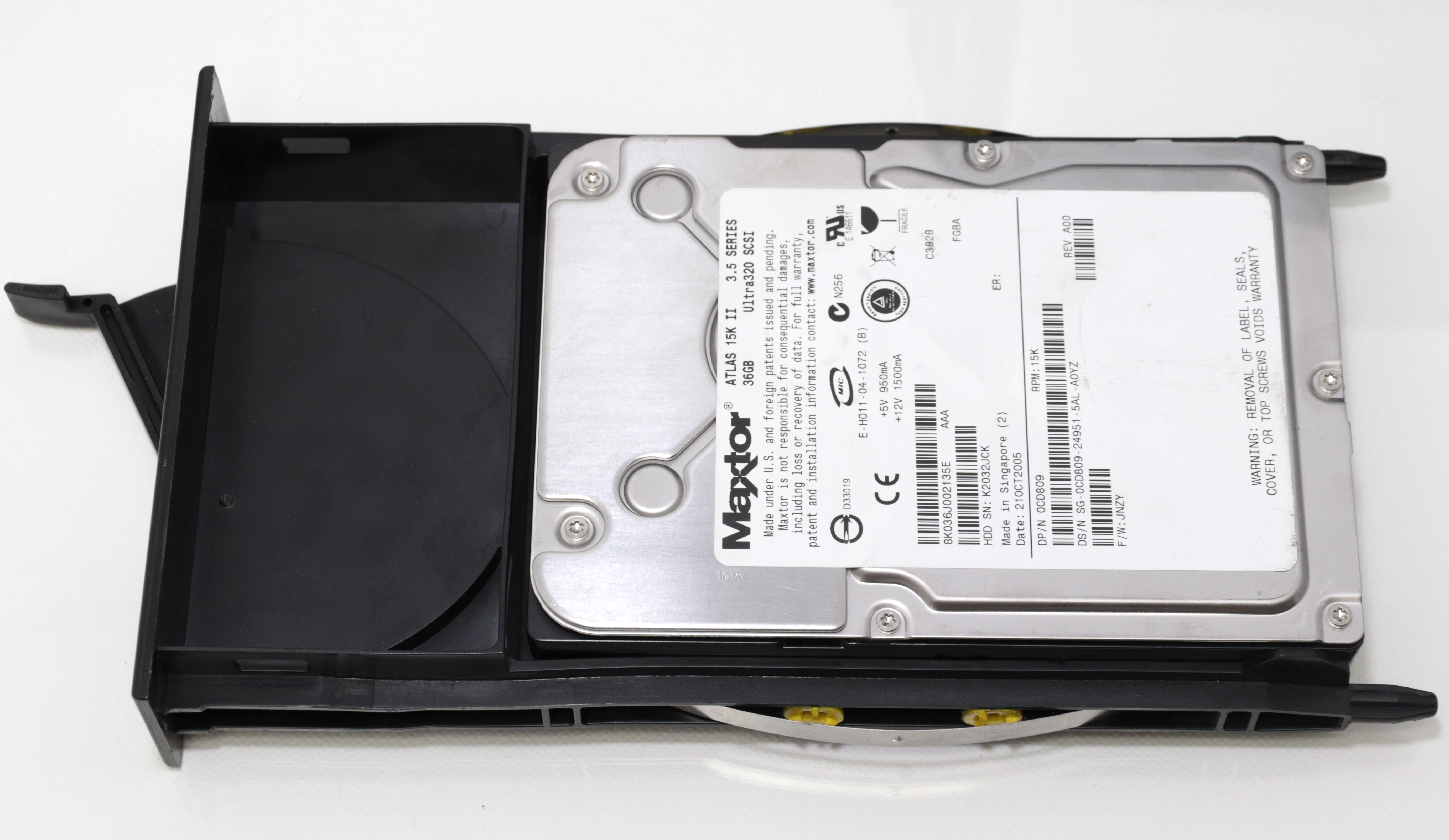 O2 HDD cage