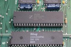 Z80 csere 20MHz-es példányra