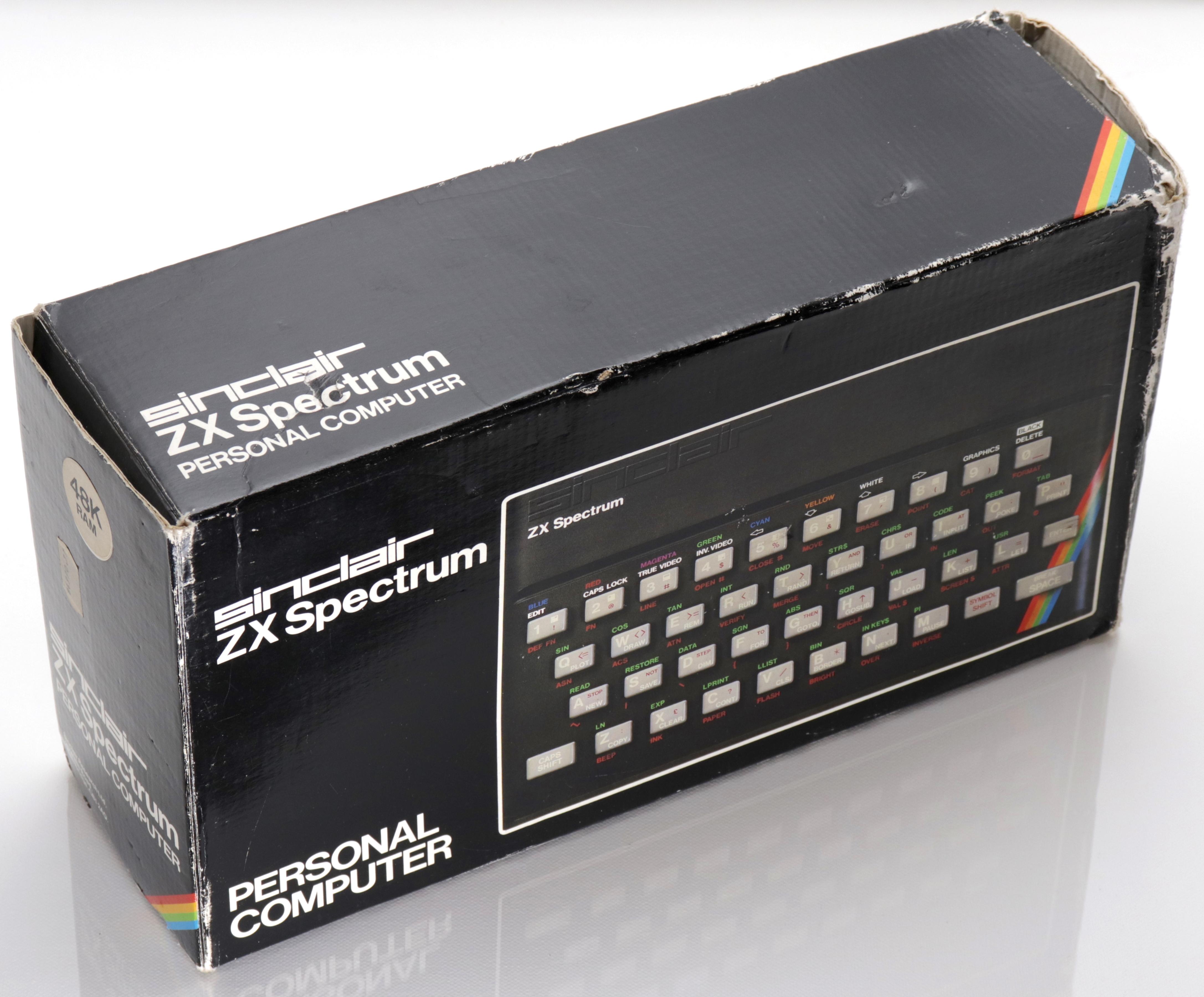 Spectrum doboz