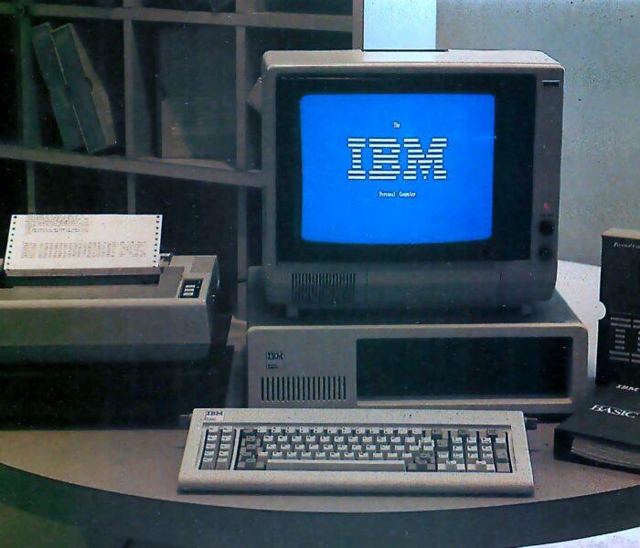 IBM Personal Computer – a kezdetek